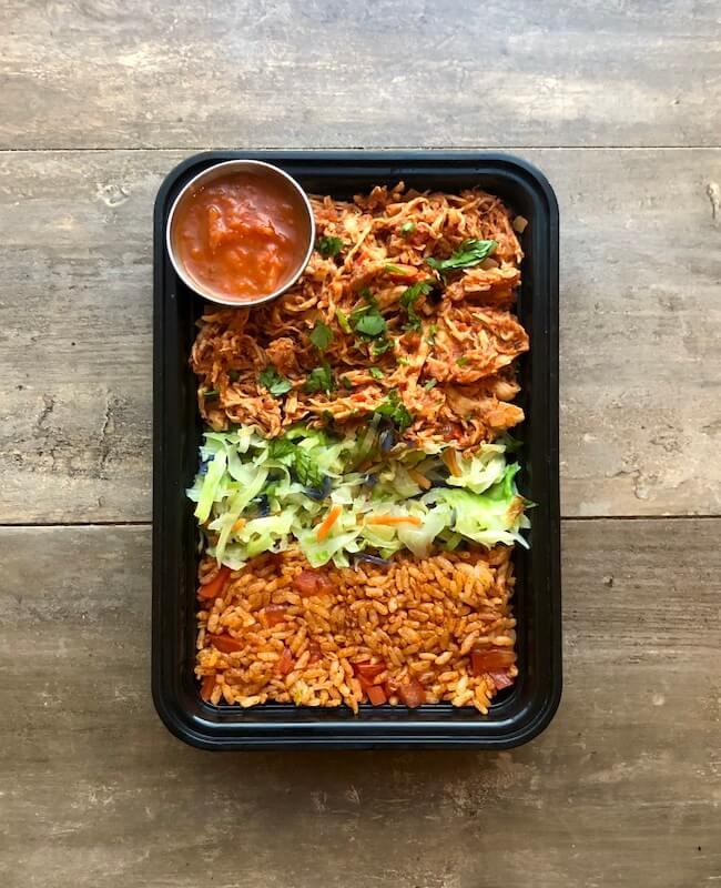 Chicken Tinga Taco Bowls