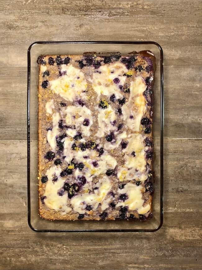 Read more about the article Lemon Blueberry Baked Oatmeal