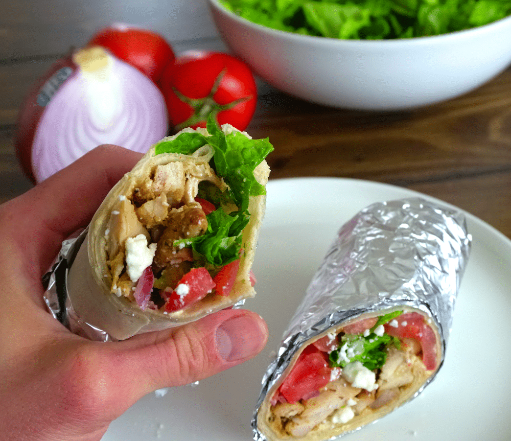 Read more about the article Mediterranean Chicken Wraps