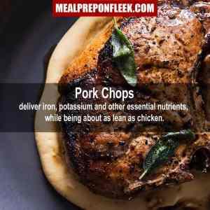 Pork Chop Health Facts