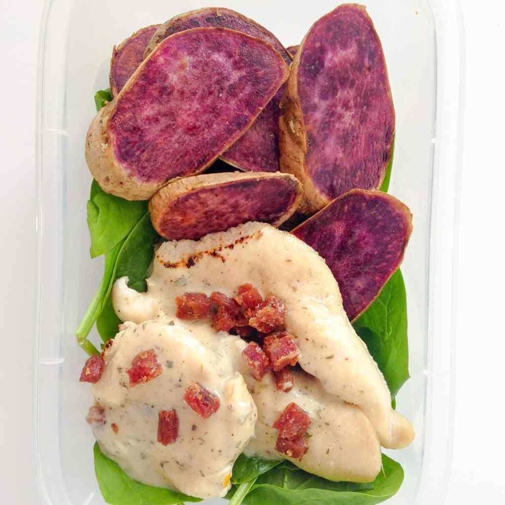 Chicken Bacon Ranch Meal Prep