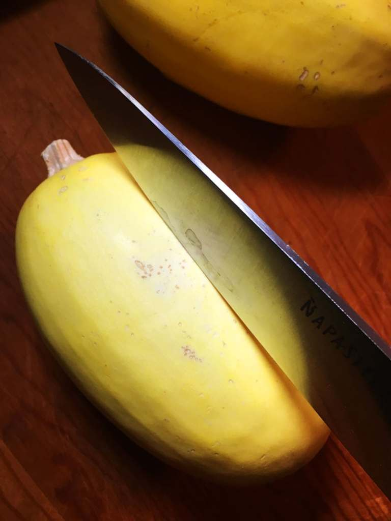 how to cook spaghetti squash step 2