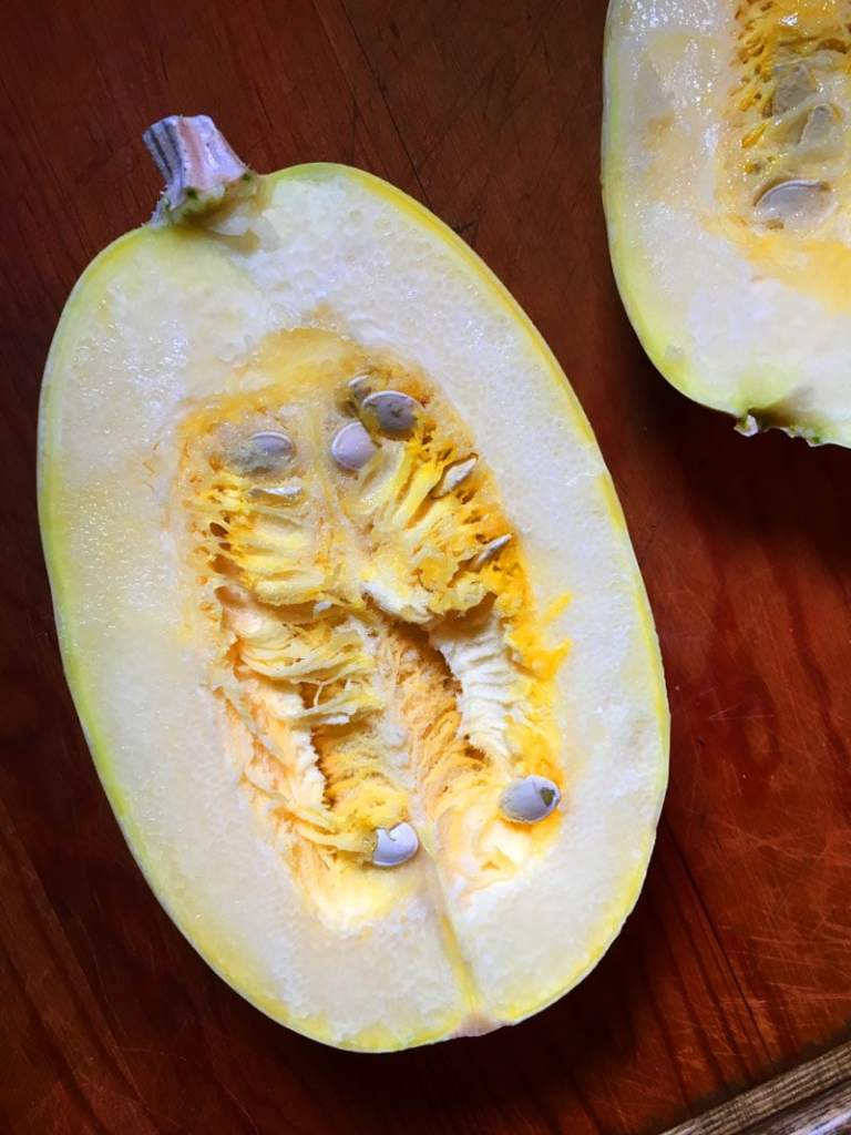how to cook spaghetti squash step 3