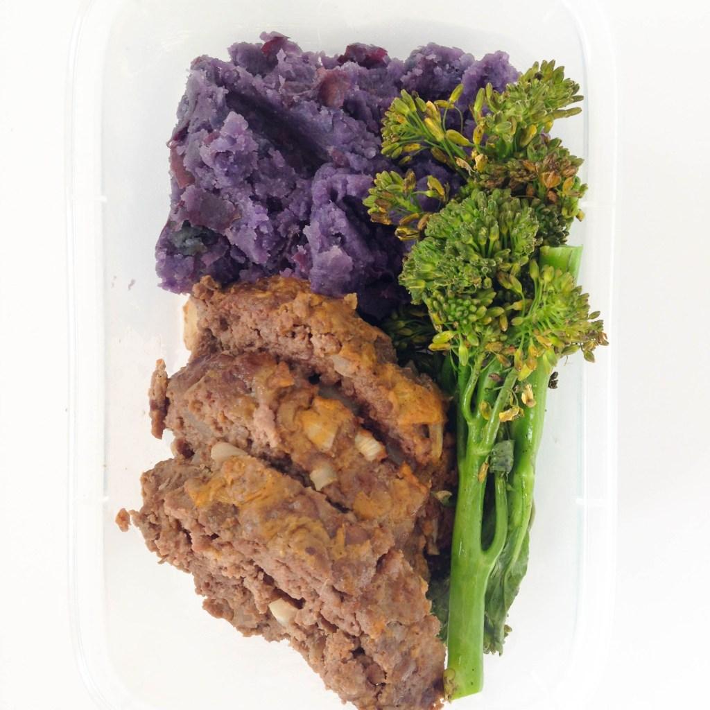 Paleo Meatloaf & Mashed Potato Meal Prep