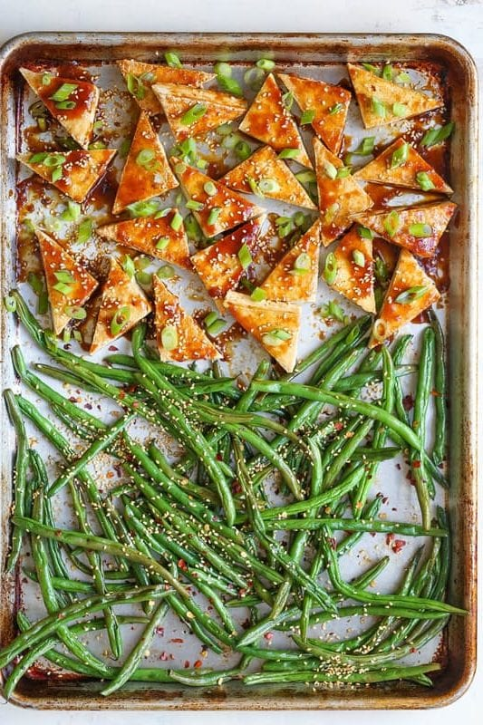 easy sheet pan dinner recipe