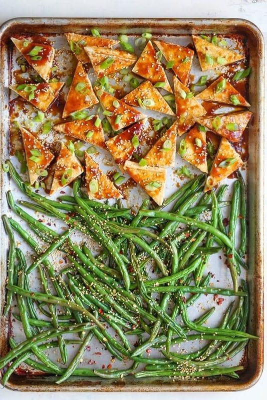 easy sheet pan dinner recipe