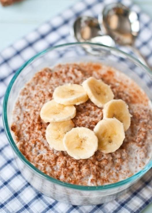 Bulgar wheat breakfast