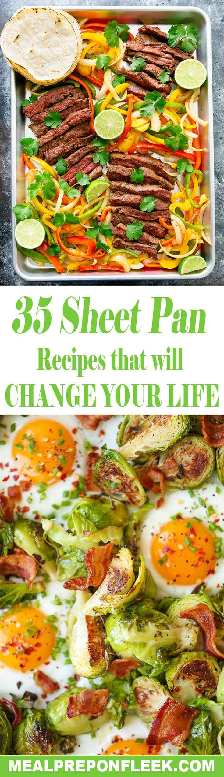 sheet pan recipes that will change your life