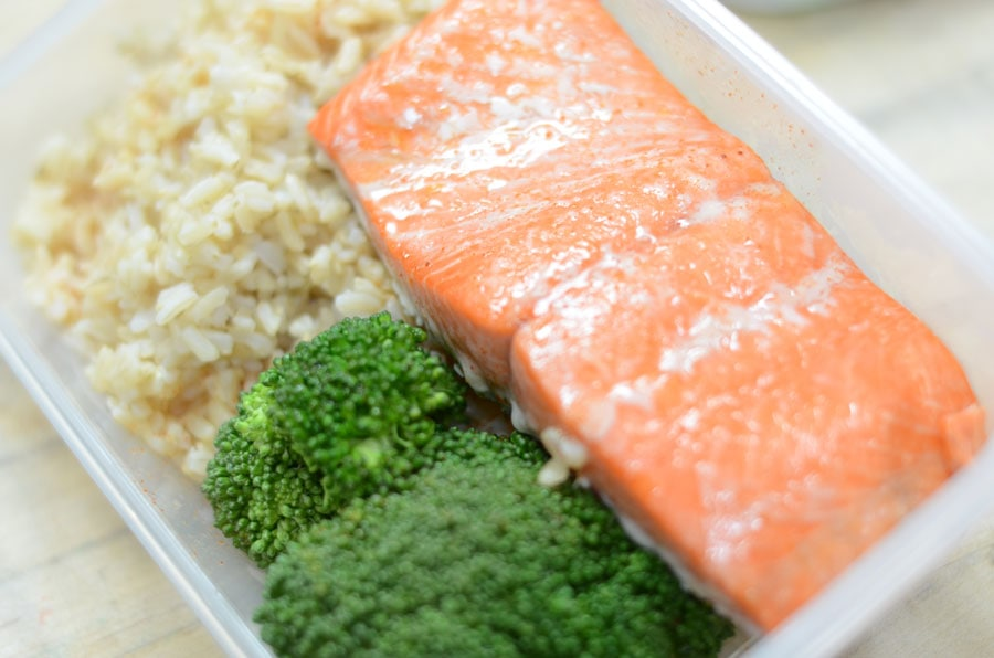 sizzlefish salmon meal prep