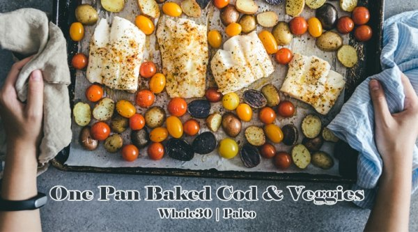 Sheet Pan Cod and Vegetable Recipe