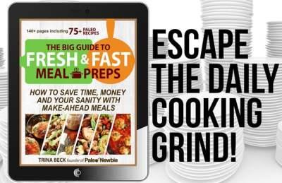 paleo meal prep cookbook