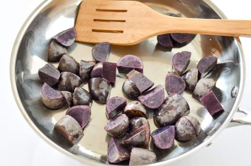 One Pan Baked Cod & Veggies
