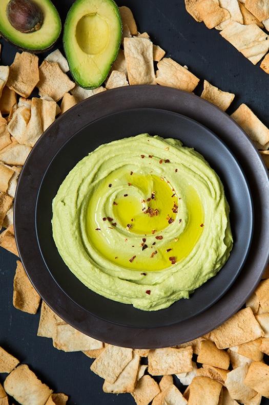 Healthy Avocado Hummus