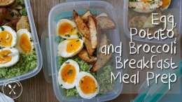 Egg, Potato, and Broccoli Breakfast Meal Prep