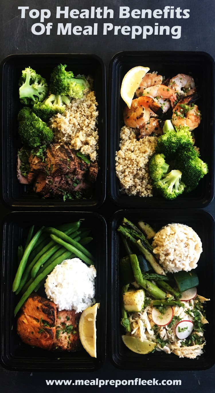 Top Health Benefits Of Meal Prepping