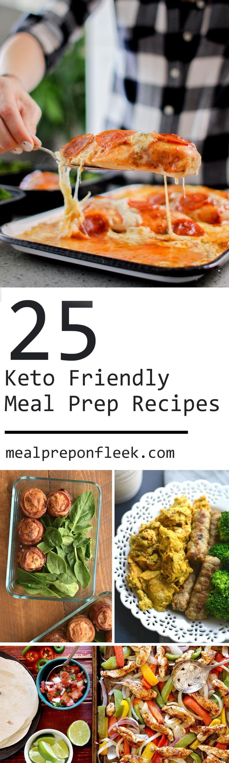 25 Amazing Keto Meal Prep Recipes Meal Prep On Fleek