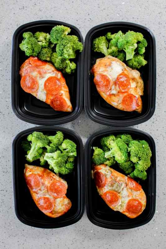 Pizza Chicken Meal Prep Recipe Meal Prep On Fleek