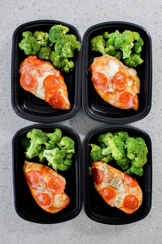 Pizza Chicken Meal Prep Recipe - Meal Prep on Fleek™