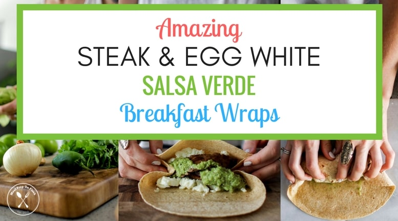 Steak & Egg White Salsa Verde Breakfast Meal Prep Recipe