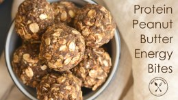 Protein Peanut Butter Energy Bites