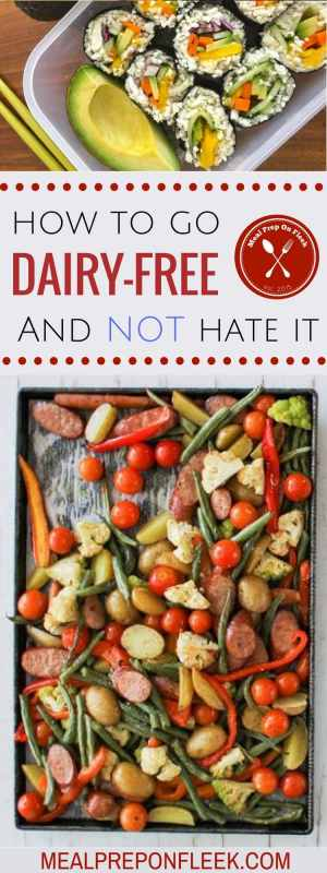 How to go Dairy Free and Dairy Free Recipes