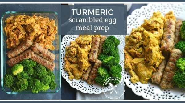 turmeric egg breakfast meal prep recipe