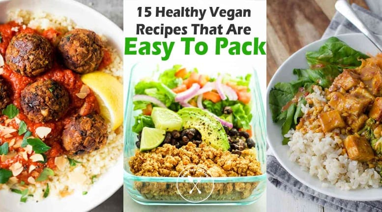 15 healthy vegan recipes that are easy to pack meal prep on fleek forumfinder Choice Image