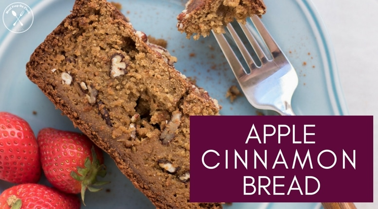 Cinnamon Apple Banana Snack Bread