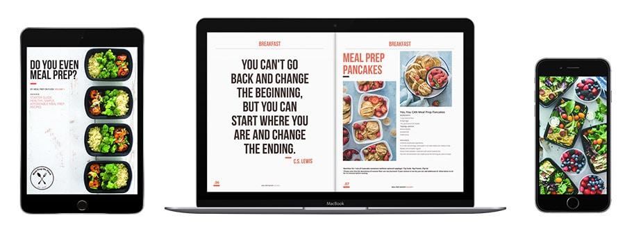 Meal Prep Ideas eBook PDF