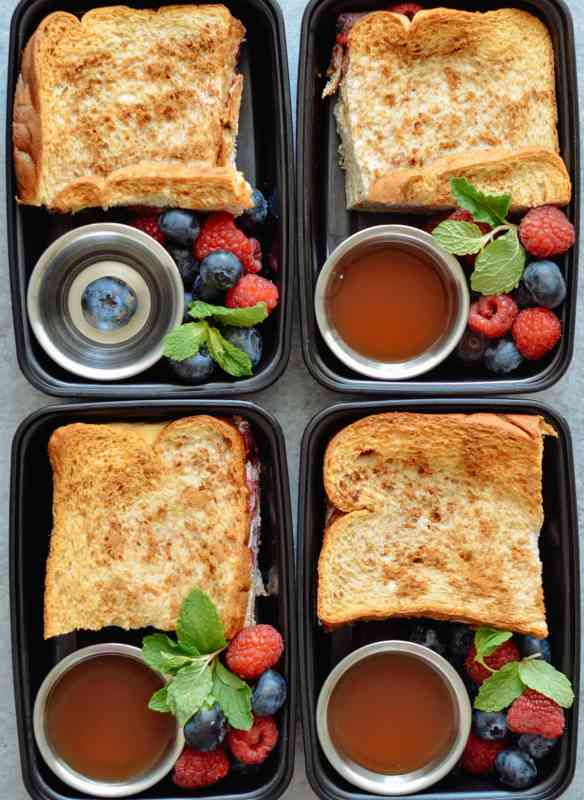 Stuffed French Toast Meal Prep
