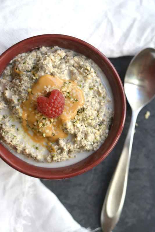 Keto Overnight 'Oats'