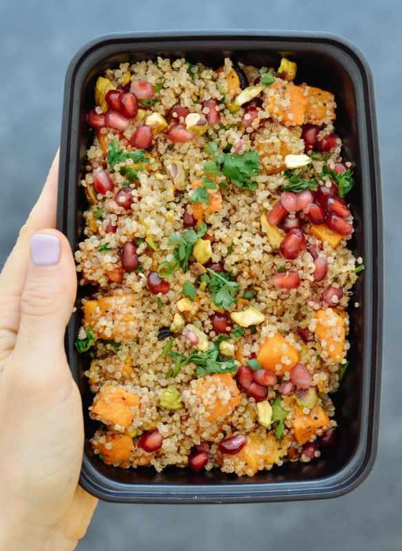 Maple Roasted Squash & Quinoa Salad