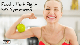 Foods That Fight PMS Symptoms