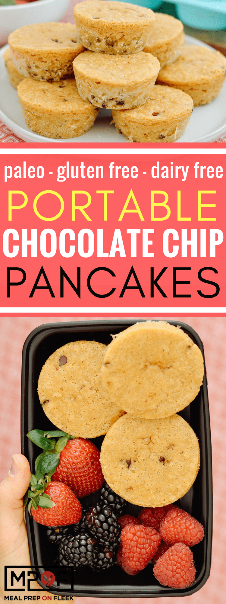 Portable Chocolate Chip Pancakes blog