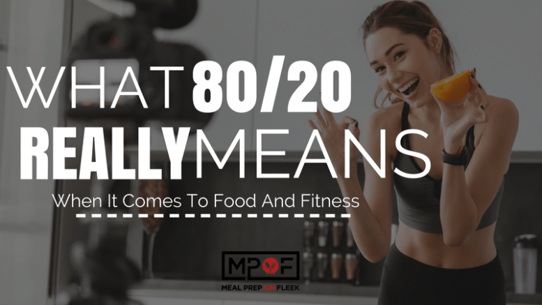 80-20 Diet Rule to Live By