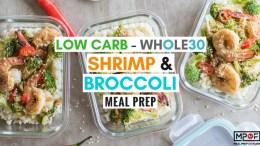 Shrimp & Broccoli Meal Prep