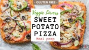 Veggie Lovers Sweet Potato Pizza Meal Prep blog