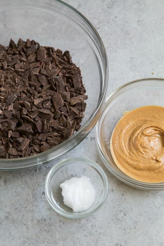 Low Sugar Chocolate Peanut Butter Cups