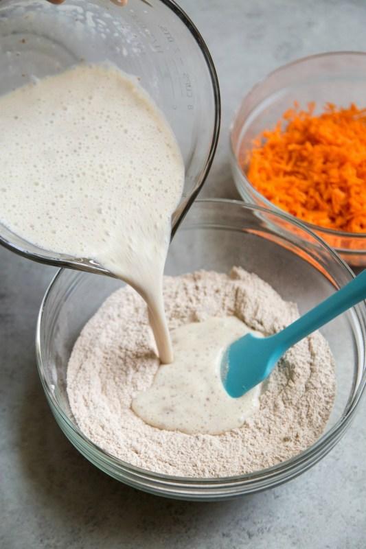 Carrot Cake Pancake Meal Prep