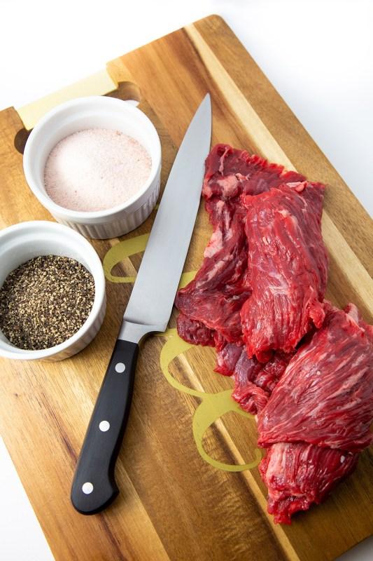 Keto Brazilian Style Skirt Steak Meal Prep