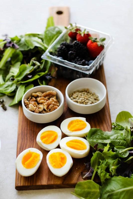 Summer Breakfast Salad Meal Prep