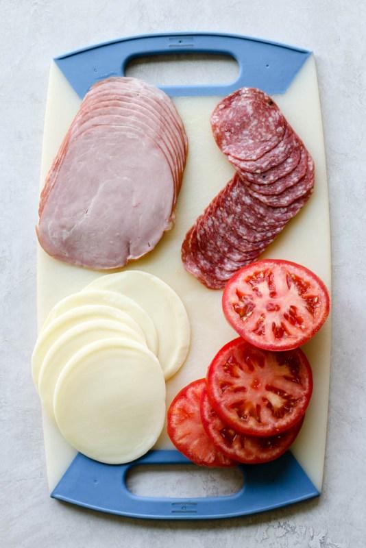 Italian Sub Lettuce Wrap Meal Prep