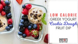 Low Calorie Greek Yogurt Cookie Dough Fruit Dip blog