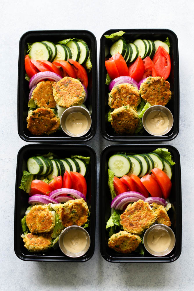 Easy Falafel Meal Prep--3