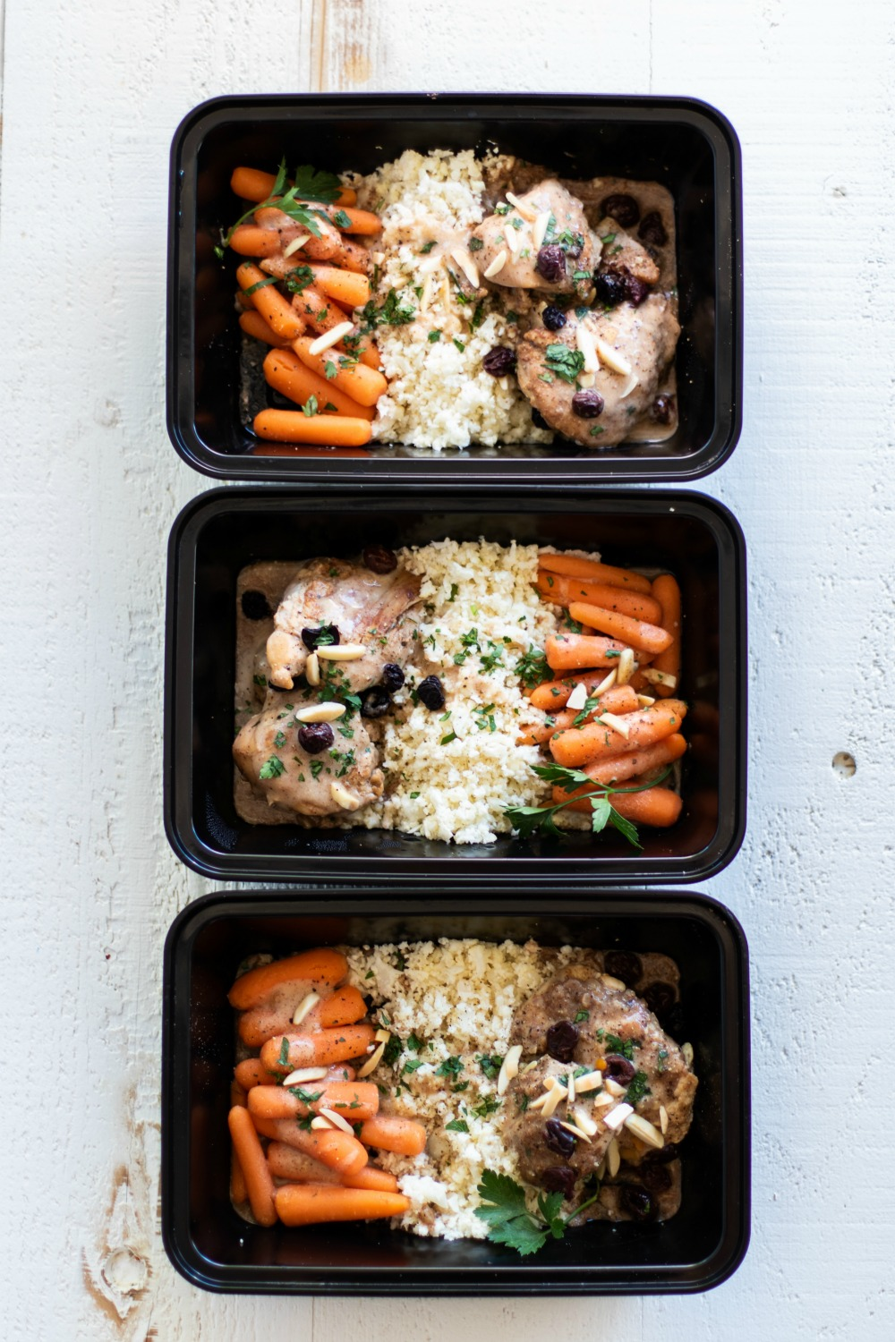 Instant Pot Moroccan Chicken Meal Prep