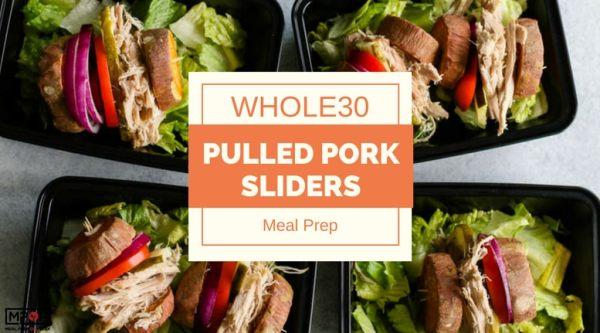 Whole30 Pulled Pork Sliders Meal Prepblog