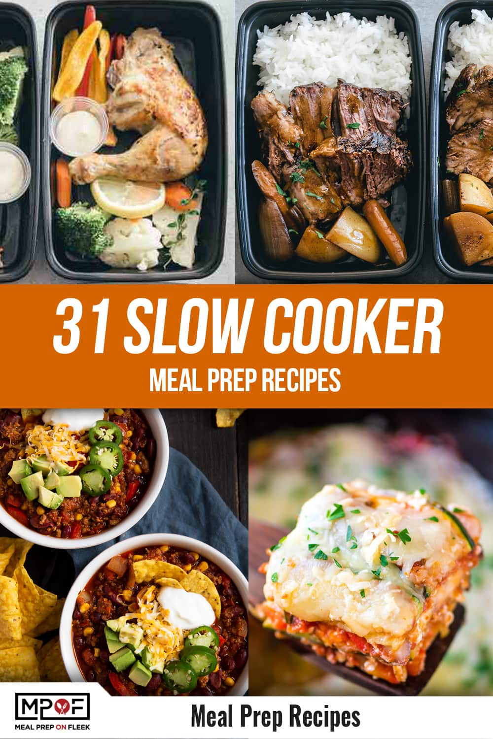 31-Slow-Cooker-Meal-Prep-Recipes Pinterest