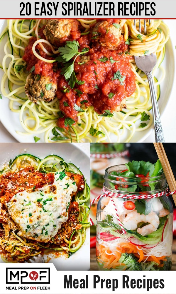 Spiralizer-Recipes