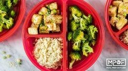 Sheet Pan Crispy Tofu and Broccoli