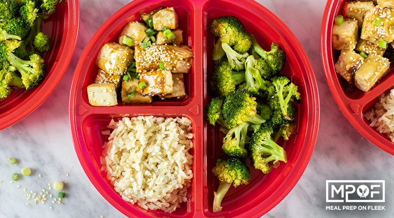 Sheet Pan Crispy Tofu and Broccoli